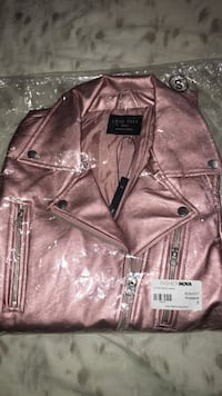 Rosegold Faux Leather Jacket Brampton, L7A 0K9