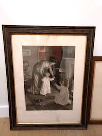 Antique picture and frame  Langley City, V3A 3J8