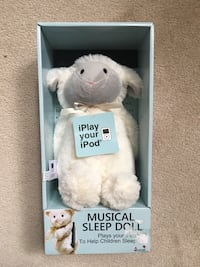 white bear plush toy in box Toronto, M1P 5B7