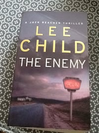 Lee Child the enemy Oslo, 0681