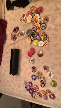 Pogs rare ones as well as none rare ones 40 bucks