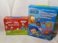 2 sets of kids books. Bubble guppies & early years Halton Hills, L7G 6L8