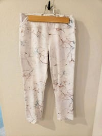 Multi-colored marbled athletic leggings  West Des Moines, 50266