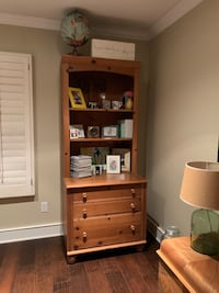 Book shelf/ file cabinet with drawers