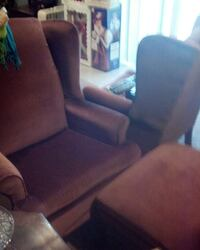 Wingback chairs.footstool Millersville, 21108