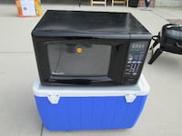 black and gray microwave oven COLORADOSPRINGS