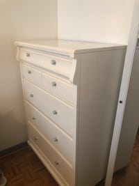Tall Dresser white wood finished  Vaughan, L4K 3H8