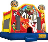 Bouncy House business with 6 commercial bouncy bounces