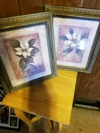 two paintings of white flowers Industry, 15052