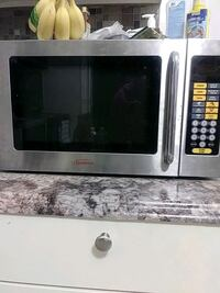 stainless steel and black microwave oven District Heights, 20747