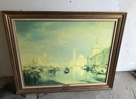 Vintage Venice painting