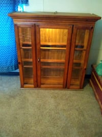 Lighted China Cabinet, Rose Call Me Goddard, 67052