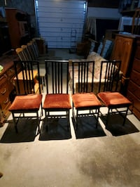 Set of four chairs  Brampton, L6X
