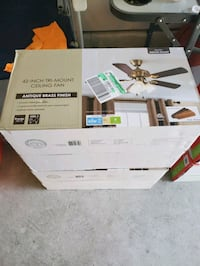 42 inch ceiling fan brand new in box