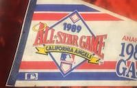 1989 All Star Game Pennant California Angels