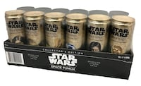 two Star Wars plastic containers