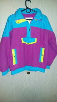 blue and pink pull over jacket  Burnaby, V5H 1H7