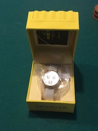 round silver-colored Michael Kors analog watch with box Glenwood, 21738