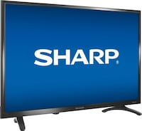 "Sharp - 32"" Class - LED - 720p - Smart - HDTV Roku TV Los Angeles"