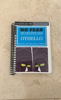 Othello: no fear Shakespeare    Beverly Hills, 90210