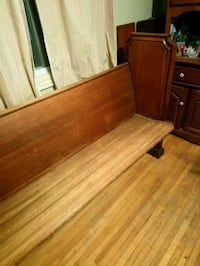 100 year old antique Church pew. Made from oak  Toronto, M1K 4K3