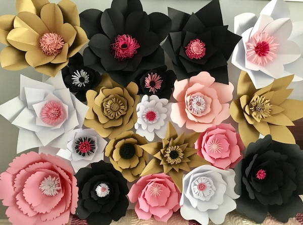 Used Paper Flower Wall For Sale In Pickering Letgo