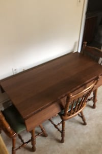 Kitchen table and  sturdy chairs