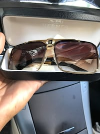 HERMÈS SUNGLASSES UNISEX/MEN Sterling, 20164