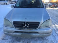 Mercedes ml320 active suv 22O km 3120 km