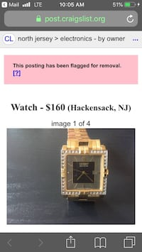 Barley used watch, it is being stored for long time without use, I use my phone  as a watch, that's why I decided to sale it. It is perfect for watch collector. Paramus, 07652
