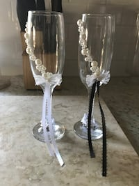 Champagne Wedding Glasses Warwick, 02888