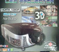 3D HDMI LED Projector