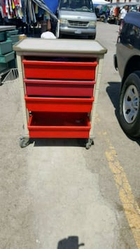 red and black tool cabinet El Paso, 79924