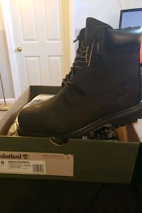 Black Suede Timbaland Boots