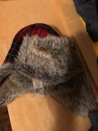 Hat and gloves. Kid roots size large with under armour material warm gloves  Mississauga