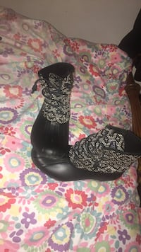 black-and-gray leopard print boots Greenville, 27834
