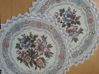 Pair Of Lenin Floral Table Mats Mississauga, L5N 2X2