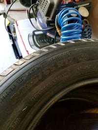 Michelin All season tires , 80 for all four.
