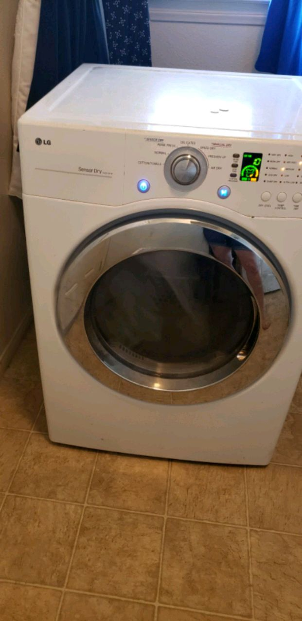 Electric dryer but gas hookup