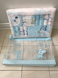 Baby's teal and white clothes set Bradford West Gwillimbury