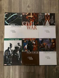 6 Marvel Civil War Series Comics! Vancouver