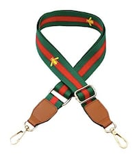 Adjustable Red/Green Bee Bag Strap  Toronto
