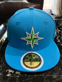 Seattle Mariners Youth Sz 6-5/8 Authentic Fitted New Era Hat Burnaby, V3N 2M9