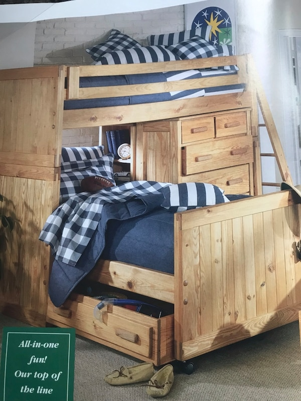 Used Cargo Bunk Bed And Furniture Set For Sale In Suwanee Letgo