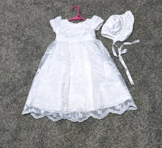 Baptism/Wedding gown baby