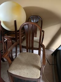Set of 6 Kitchen Chairs Cambridge, N1R 8M3