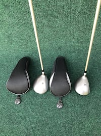 Woman's Foremost 431 Titanium Reinforced 3 & 5 Woods with Headcovers, Ladies Flex
