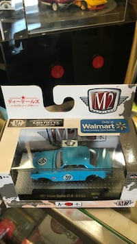 blue and black and white and blue RC toy car Whittier, 90602