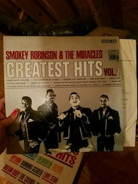 Smokey Robinson vinyl Chantilly, 20152