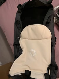Bugaboo stroller with bugaboo cup holder